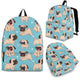 Cute Pug Backpack Limited Edition