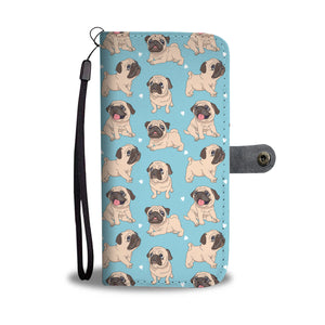 Cute Pug Wallet Case