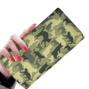 Cat Camouflage Womens Wallet