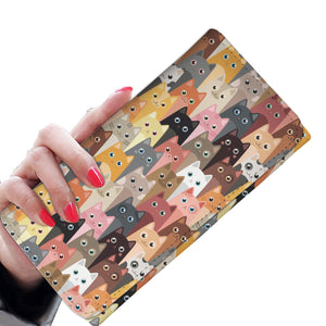 Cute Cats Womens Wallet