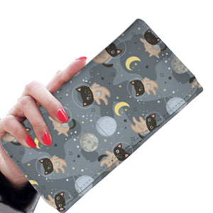 Space Cats Womens Wallet