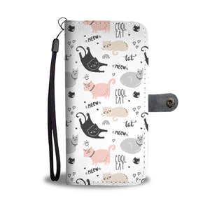 Cool Cat Wallet Case