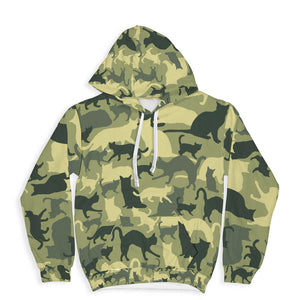 Cat Camouflage Hoodie Limited Edition
