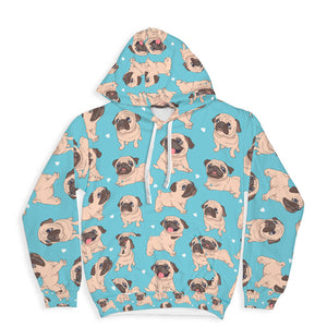 Lovely Pugs Hoodie Limited Edition