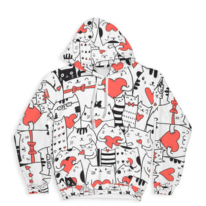 Lovely Cats Hoodie Limited Edition