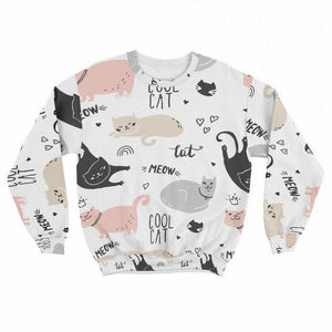 Cool Cats Crew Sweatshirt Limited Edition