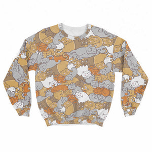 Sleep Cats Crew Sweatshirt Limited Edition