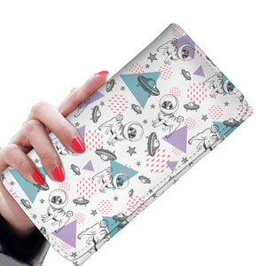 Space Pug Womens Wallet