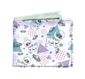 Space Pug Mens Wallet