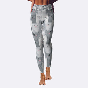 Cute Cats Yoga Leggings