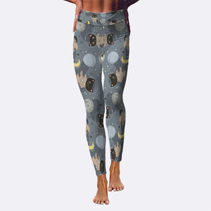 Space Cats Yoga Leggings