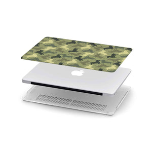 Dog Camouflage Macbook Case