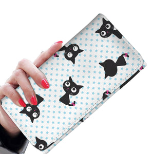 Black Cats Womens Wallet