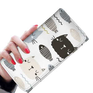 Cats and Fishes Womens Wallet