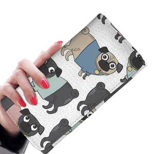 Funny Pugs Womens Wallet