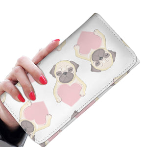 Lovely Pugs Womens Wallet
