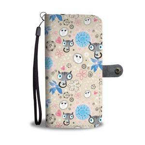 Lovely Cats Wallet Case