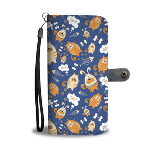Cat Dog Wallet Case
