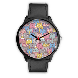 Cute Cats Black Watch