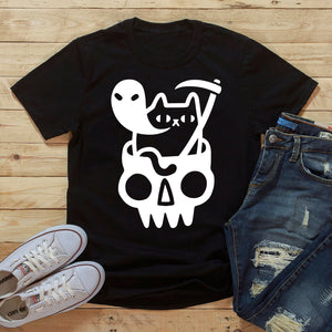 Doom Cat Unisex T-shirt