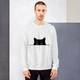 Sneak Black Cat Crew Sweatshirt