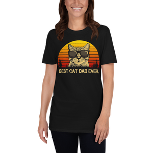 Best Cat Dad Ever Unisex T-shirt