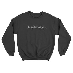 Cat HeartBeat Crew Sweatshirt