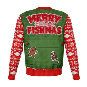Merry Fishmas Fashion Sweatshirt