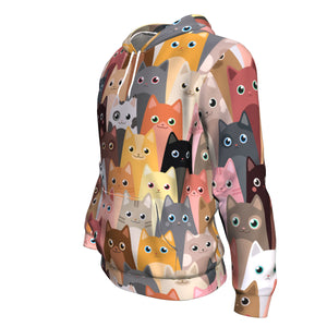 Cute Cats Hoodie All-Over