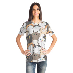 Cute Cats Unisex T-shirt All-Over