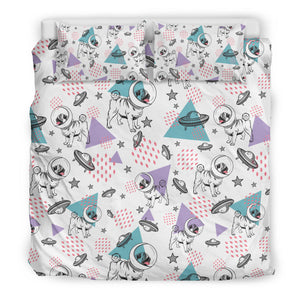 Space Pugs Bedding Set