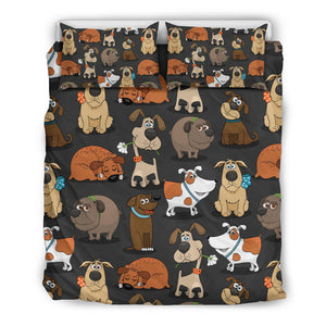 Cute Dogs Bedding Set
