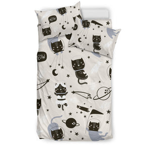 Space Cat Bedding Set