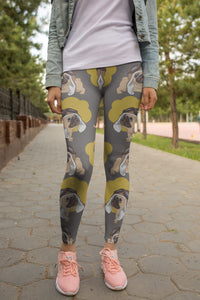 Pilot Pugs Fashion Leggings