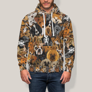 Cute Dogs Hoodie Limited Edition