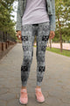 Cat Faces Fashion Leggings