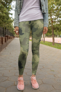 Dog Camouflage Fashion Leggings