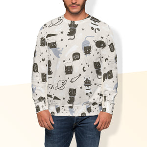 Space Cat Crew Sweatshirt Limited Edition