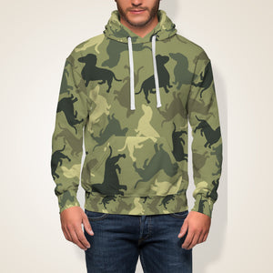 Dog Camouflage Hoodie Limited Edition