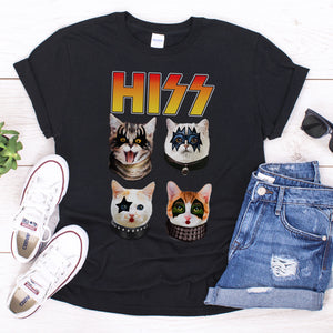 HISS Cat Unisex T-shirt