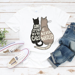 Time With Cats Unisex T-shirt