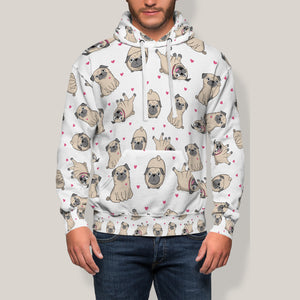Cute Pug Hoodie Limited Edition