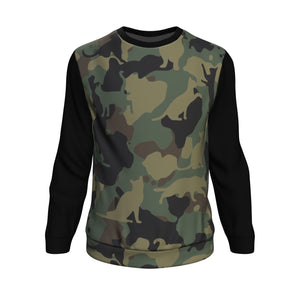Cat Camouflage Sweatshirt All-Over