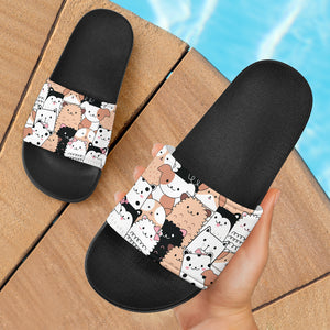 Cute Animals Slide Sandals