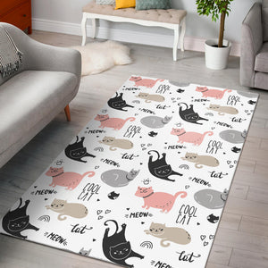 Cool Cats Area Rug