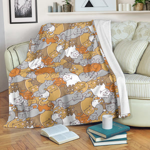Sleep Cats Premium Blanket