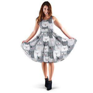 Funny Cat Women's Dress Limited Edition