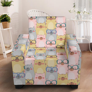 Lovely Cats Sofa Slip Cover