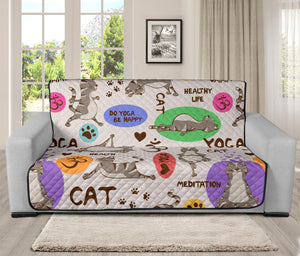 Yoga Cat Sofa Protector