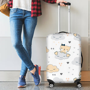 Cat Cloud Luggage Covers